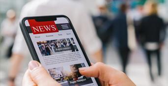 news on phone