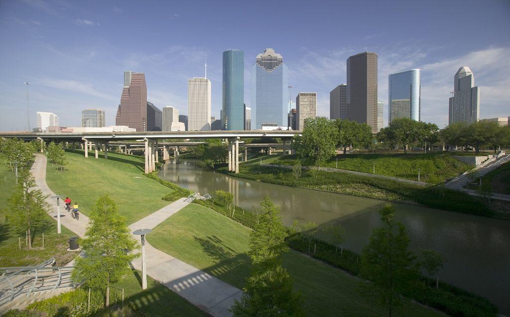 Houston Skyline Aberdeen Business Gateway